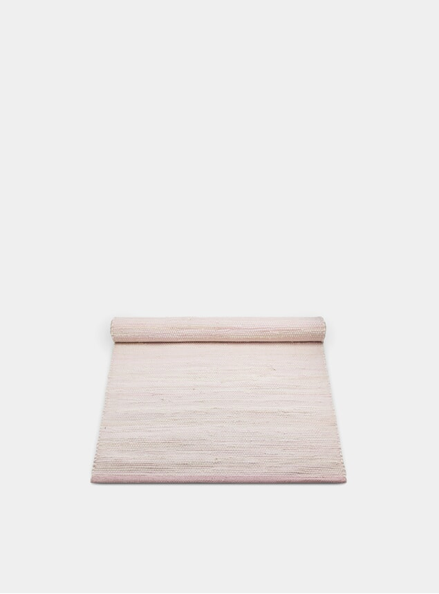 Misty Rose Cotton Rug
