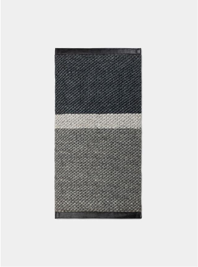 Grey Gravel Landscape Rug