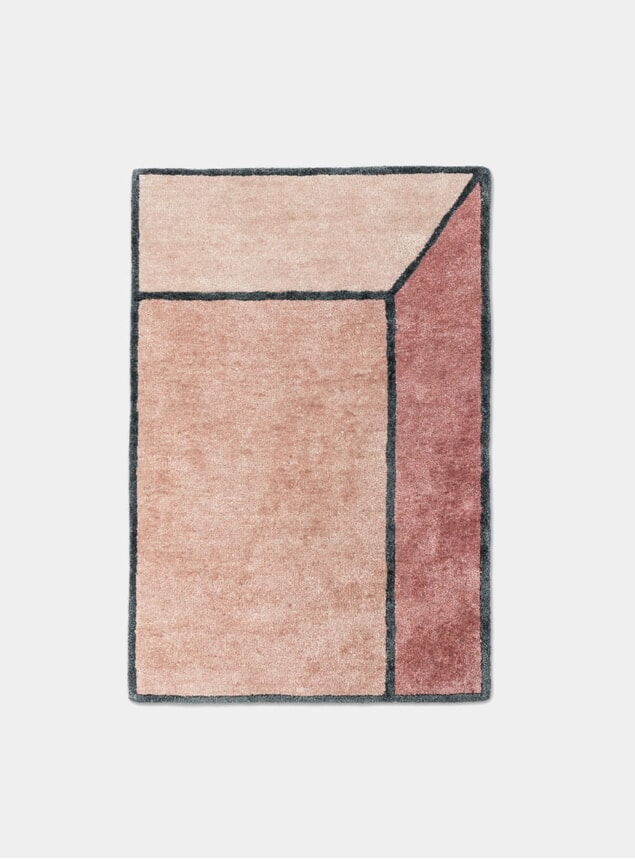 Terracotta Illusion Rug