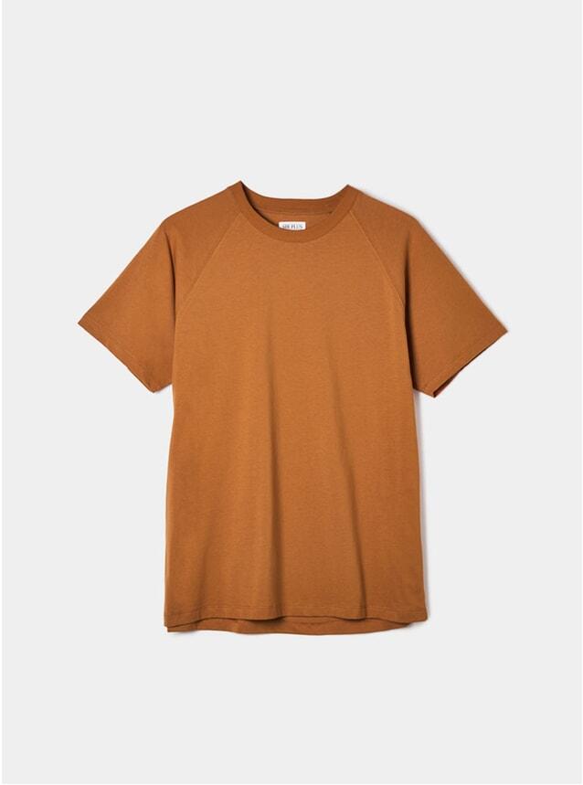 Rust Raglan T Shirt