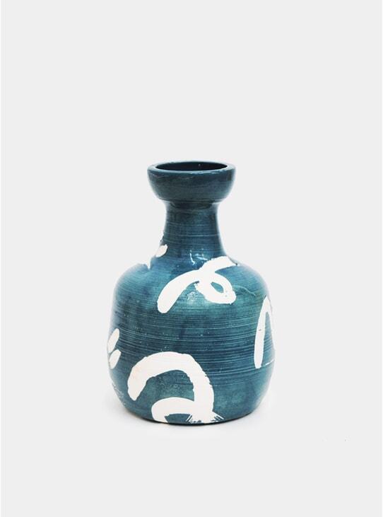Dolphin Blue Deco Dance Bottle