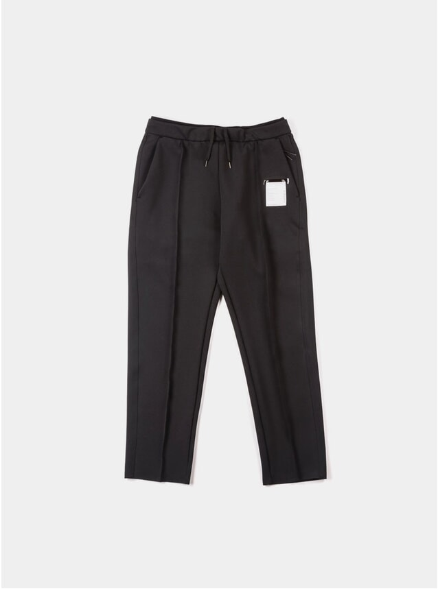 Black Spacer Post- Run Pants