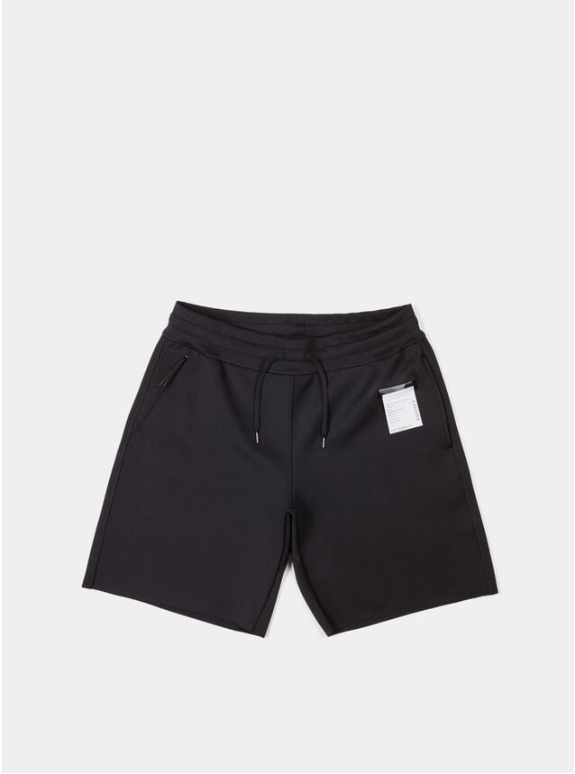 Black Spacer Shorts