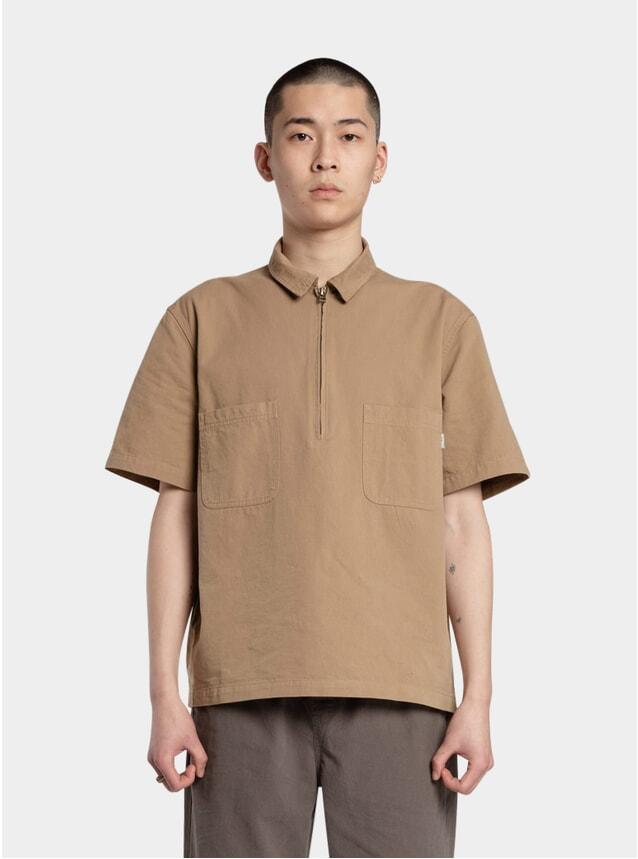 Khaki 3rd Zip Shirt