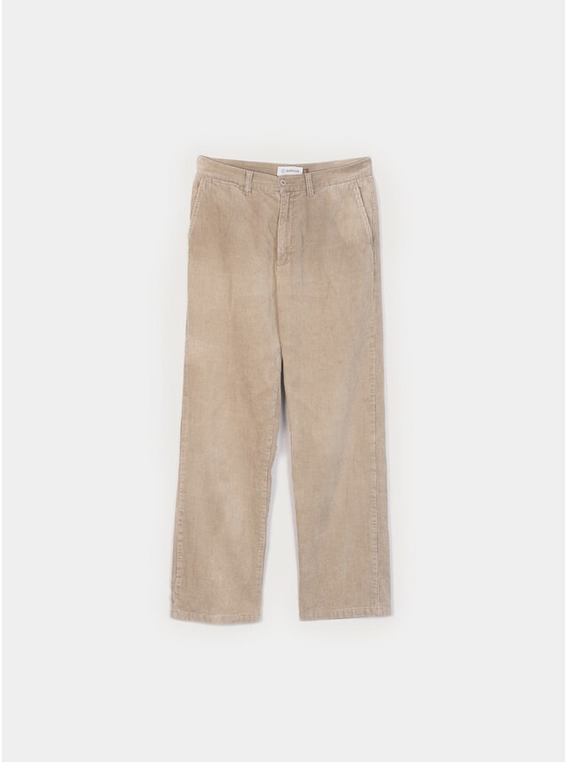 Peat Taupe Cord Pants