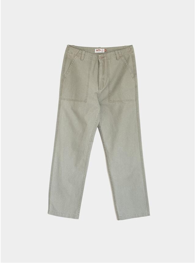 Dark Olive Utility Pants