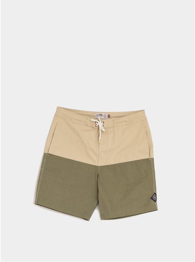 Khaki / Green Nasi Classic Boardshorts