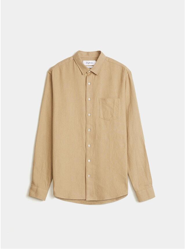 Army Beige Button Shirt