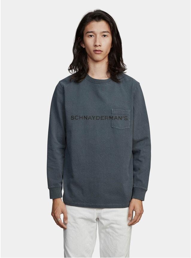 Black Logo Jersey GD LS T Shirt