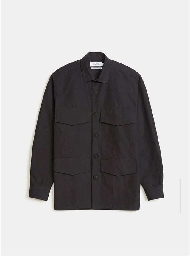 Black M65 Ripstop Overshirt