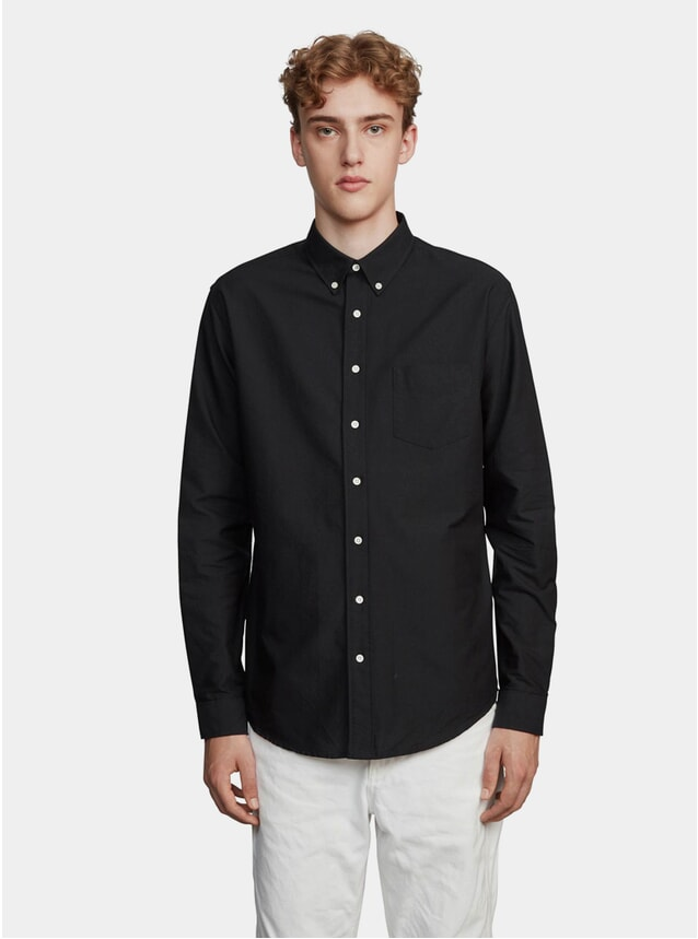 Black One Oxford Shirt