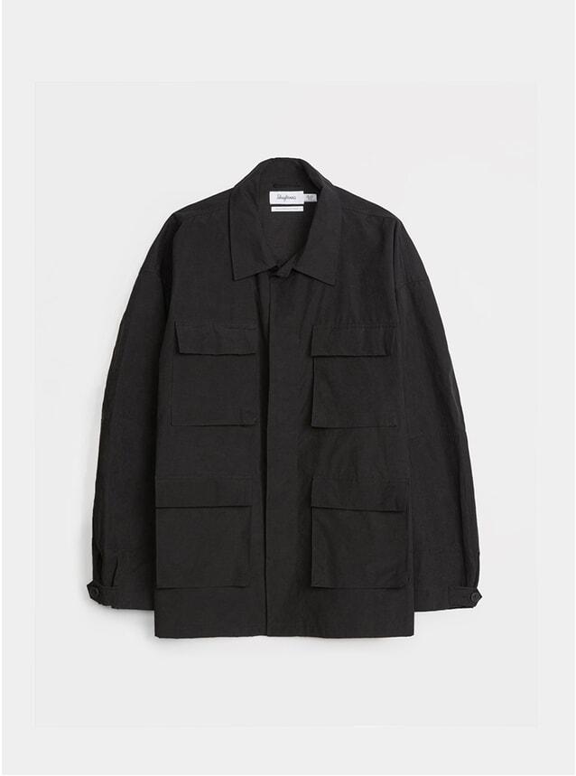 Black Oversized Army Jacket