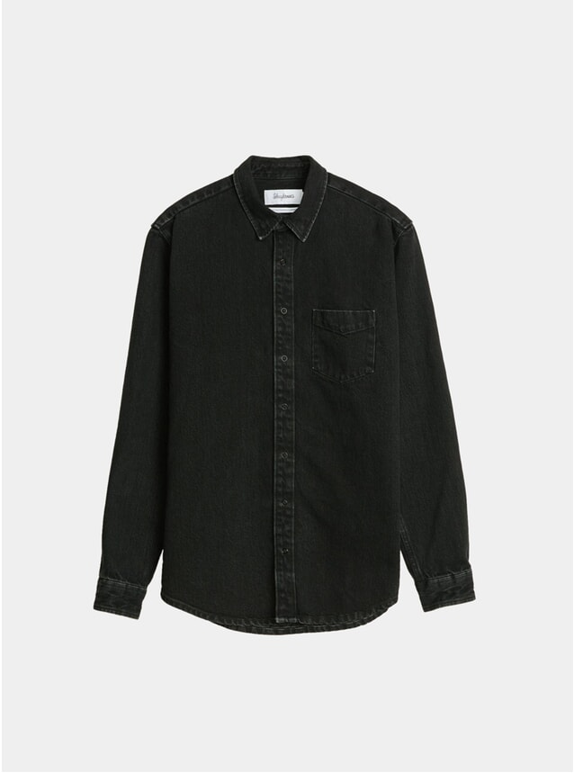 Black Under Denim Shirt