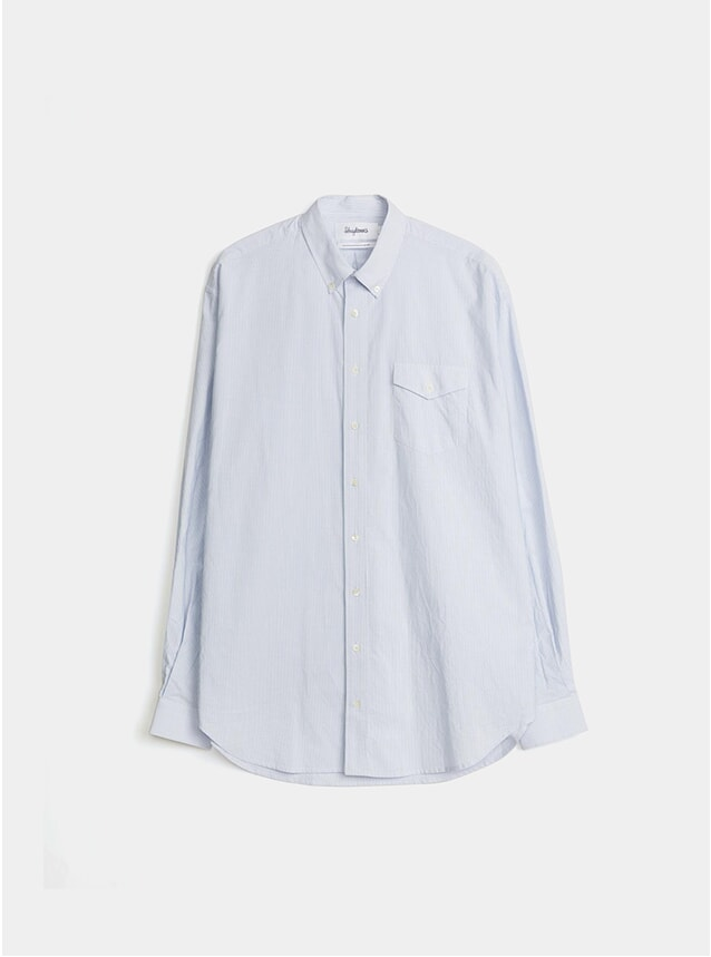 Blue / White Stripe Oversized Shirt