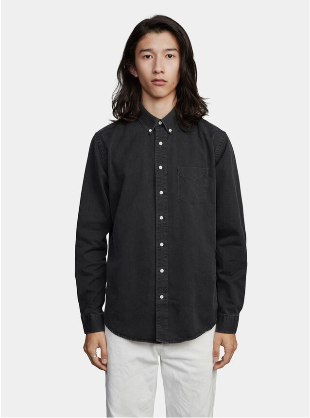 Charcoal Denim Summer Shirt
