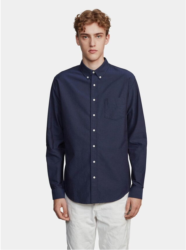 Dark Blue One Oxford Shirt