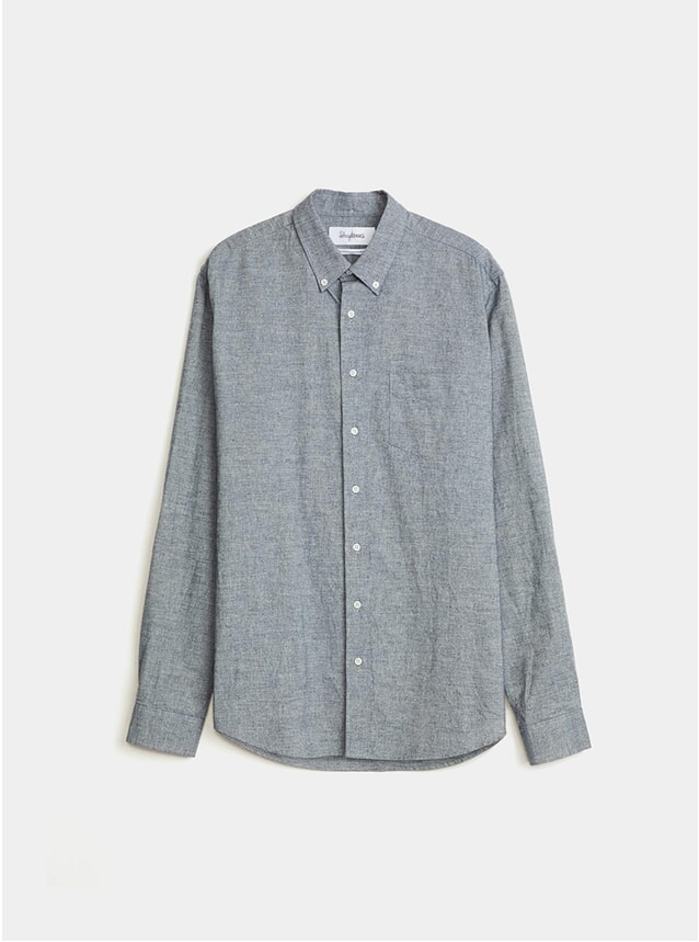 Indigo Cotton BD Shirt