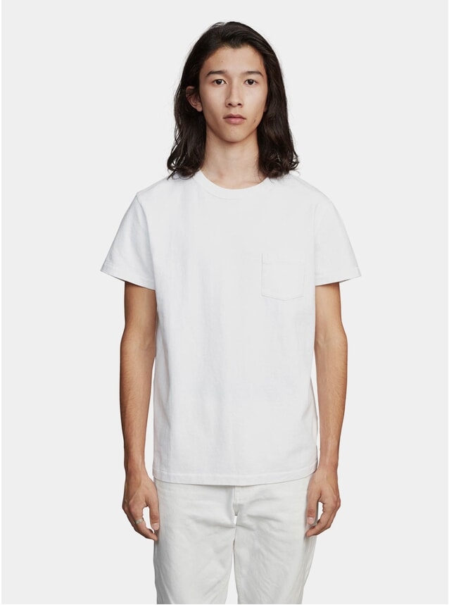 White Jersey T Shirt
