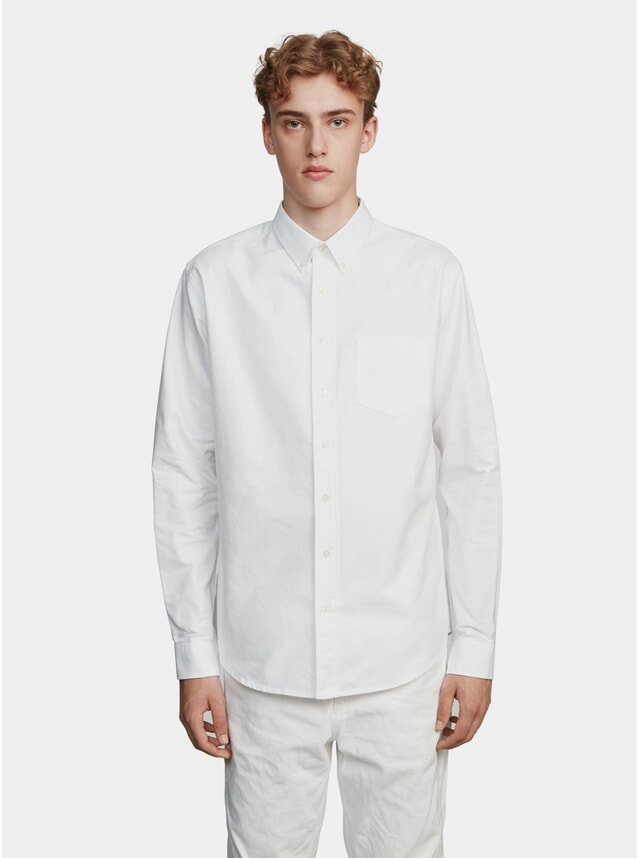 White One Oxford Shirt