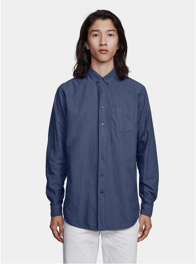 Mood Indigo Garment Dyed Oxford Shirt