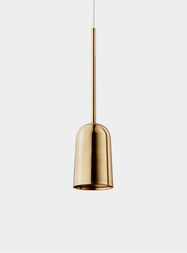 Brass Figura Arc Lighting