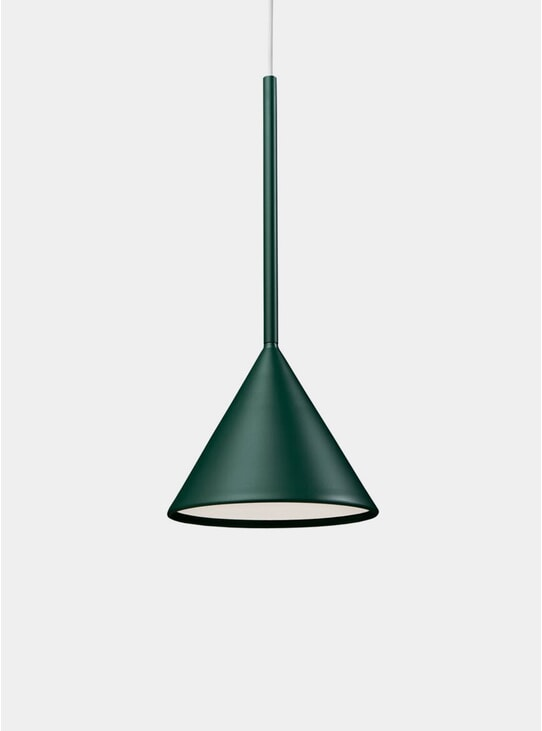 Forest Green Cone Lighting