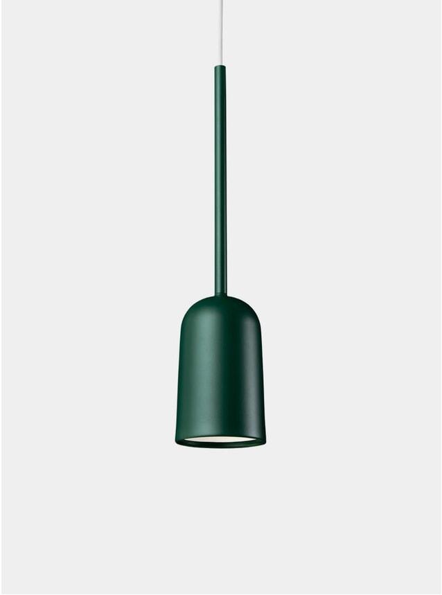 Forest Green Figura Arc Lighting