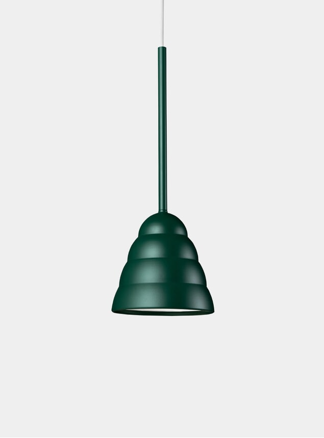 Forest Green Figura Stream Lighting