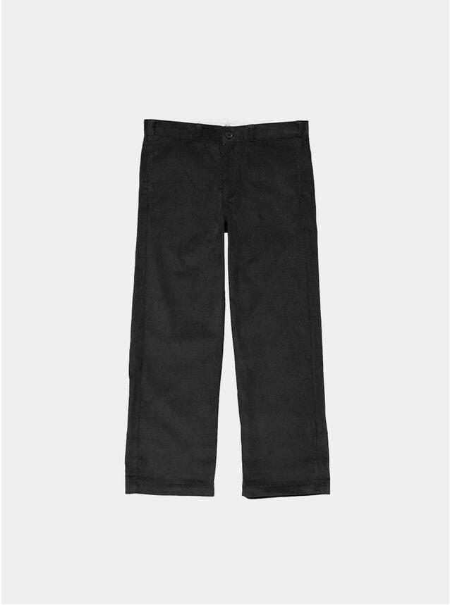Black Cord Work Pants