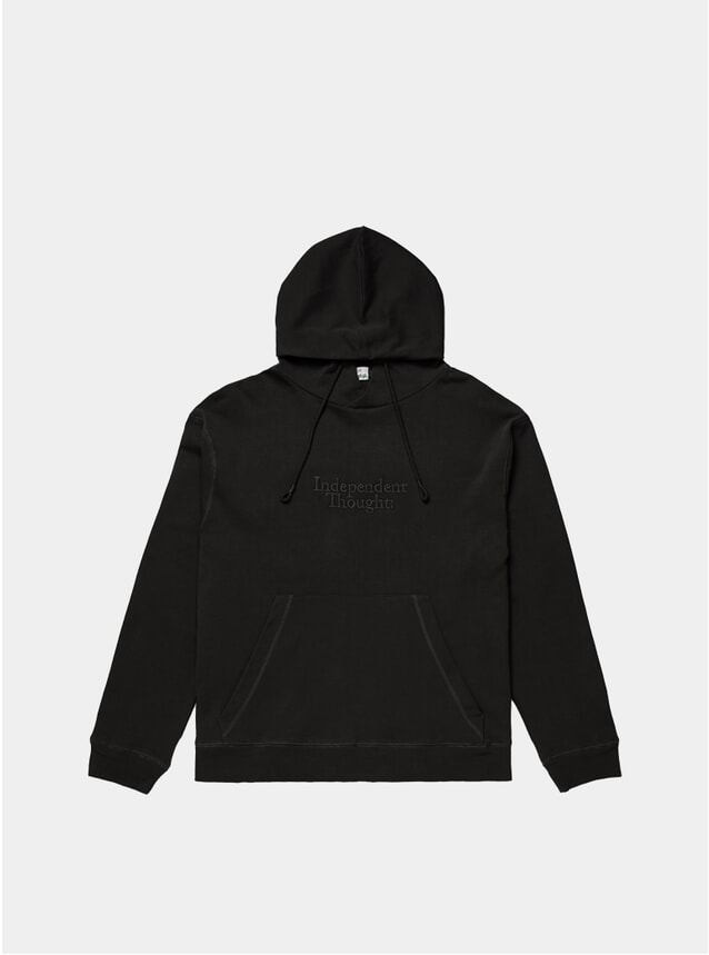 Black Independent Thought Hoodie