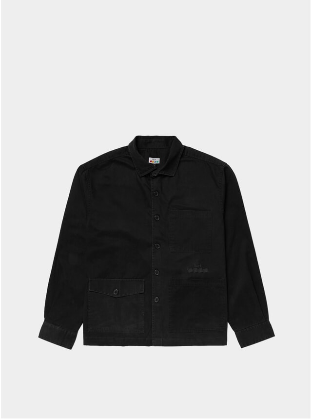 Black Winter Work Shirt