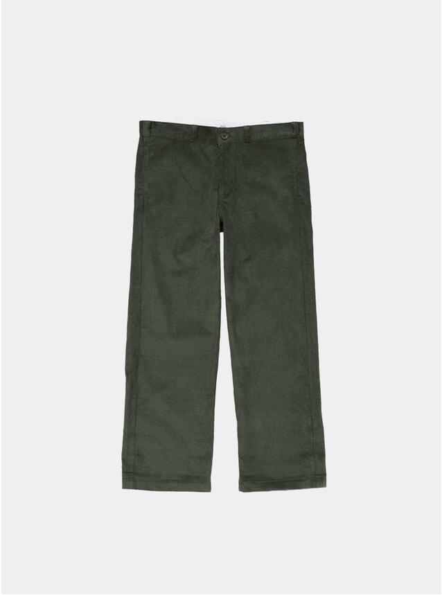 Forest Green Cord Work Pants