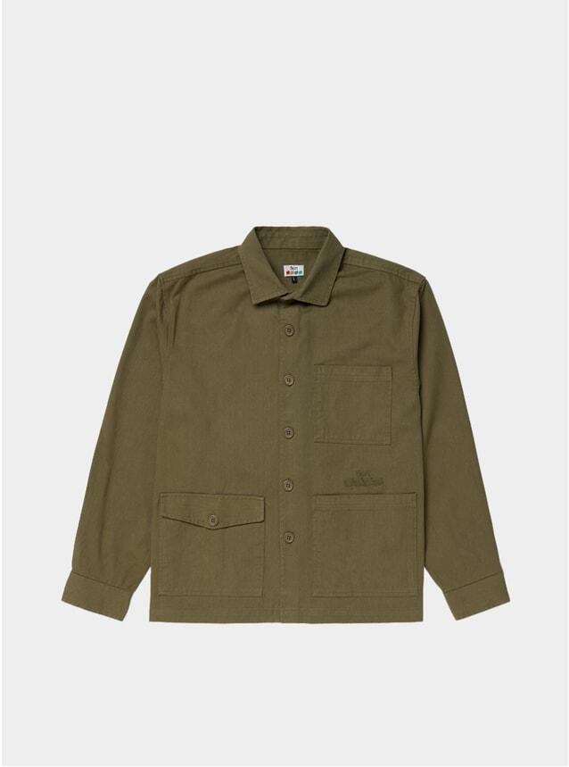 Olive Winter Work Shirt