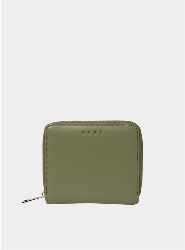 Olive Zip Wallet
