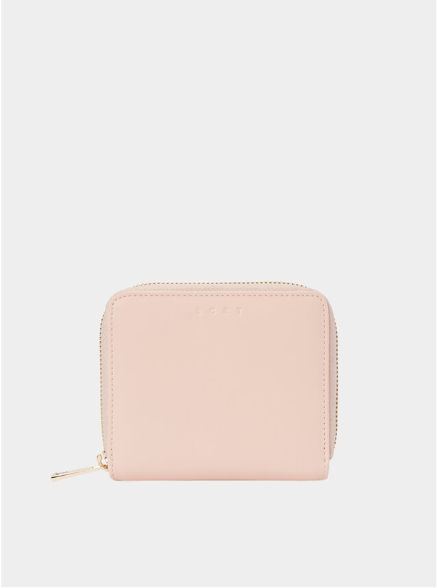Pink Zip Wallet