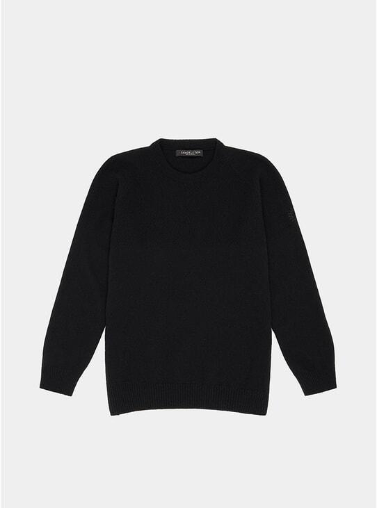 Black Dulwich Sweater