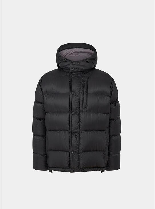 Black Wild Down Jacket
