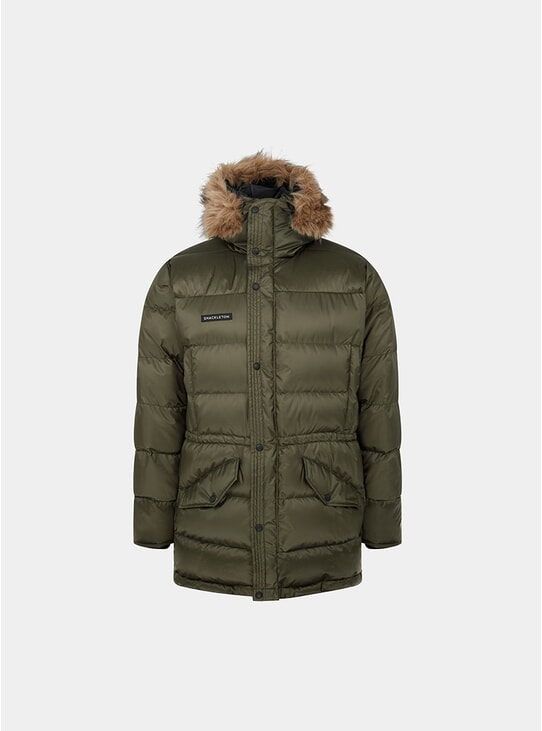 Olive Green Endurance Lightweight Down Parka