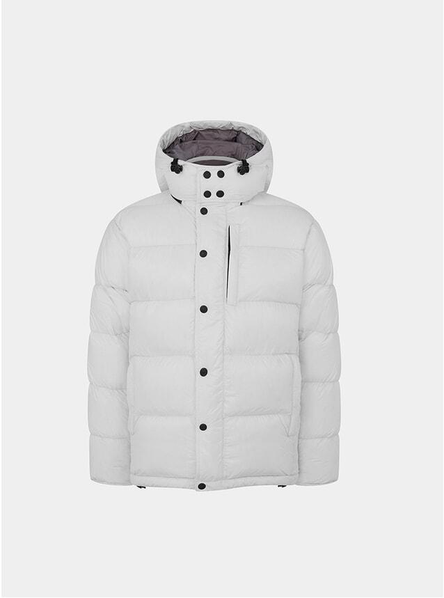 White Wild Down Jacket