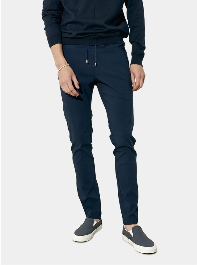Deep Blue Casual / Smart Pants