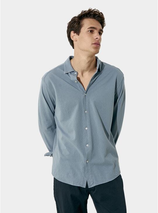 Shark Cotton Pique Shirt