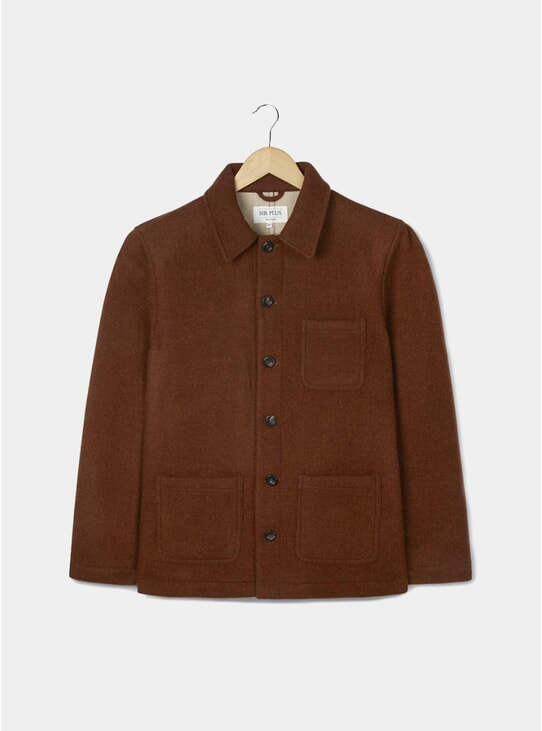 Copper Brown Chore Jacket