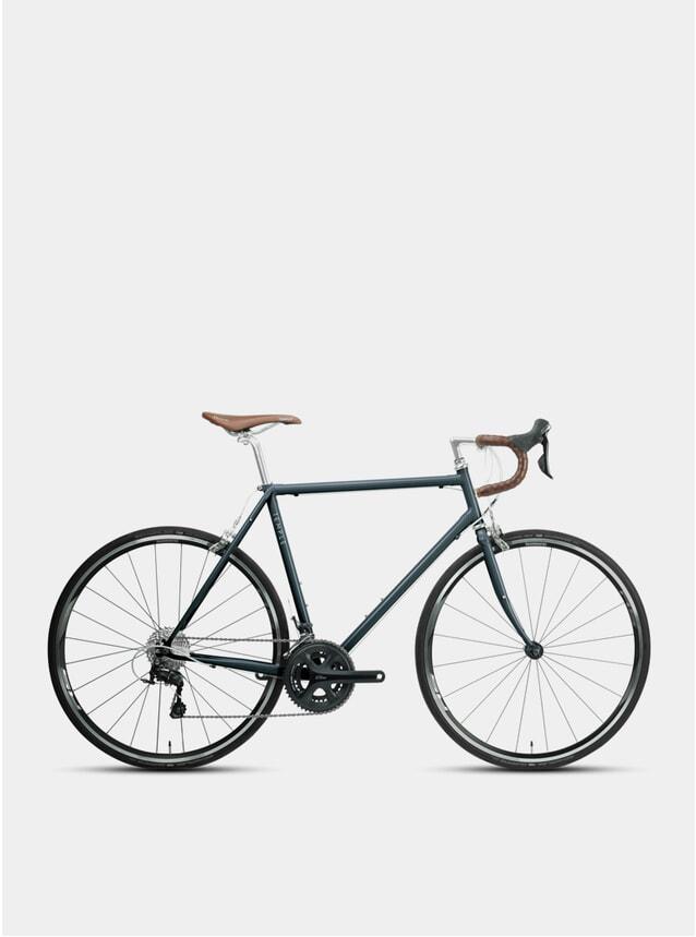 Slate Blue Classic Adventure Road Bike