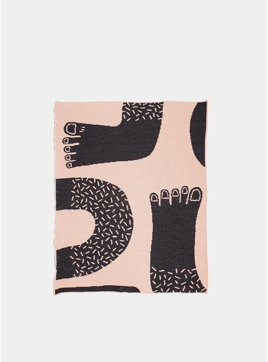Footsie Mini Blanket