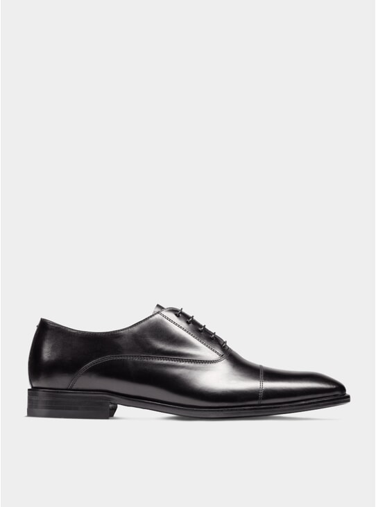 Black The First Son Oxford Shoes
