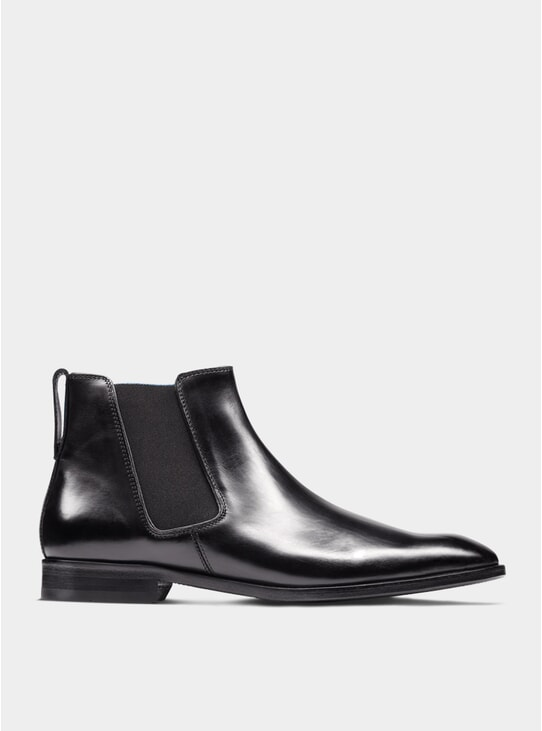 Black The Fourth Son Chelsea Boots