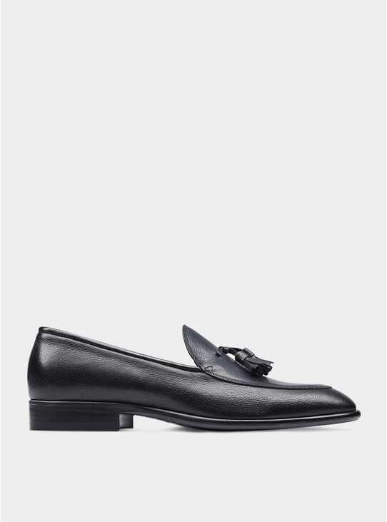 Black The Sixth Son Tassel Loafers