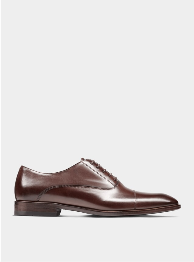 Brown The First Son Oxford Shoes