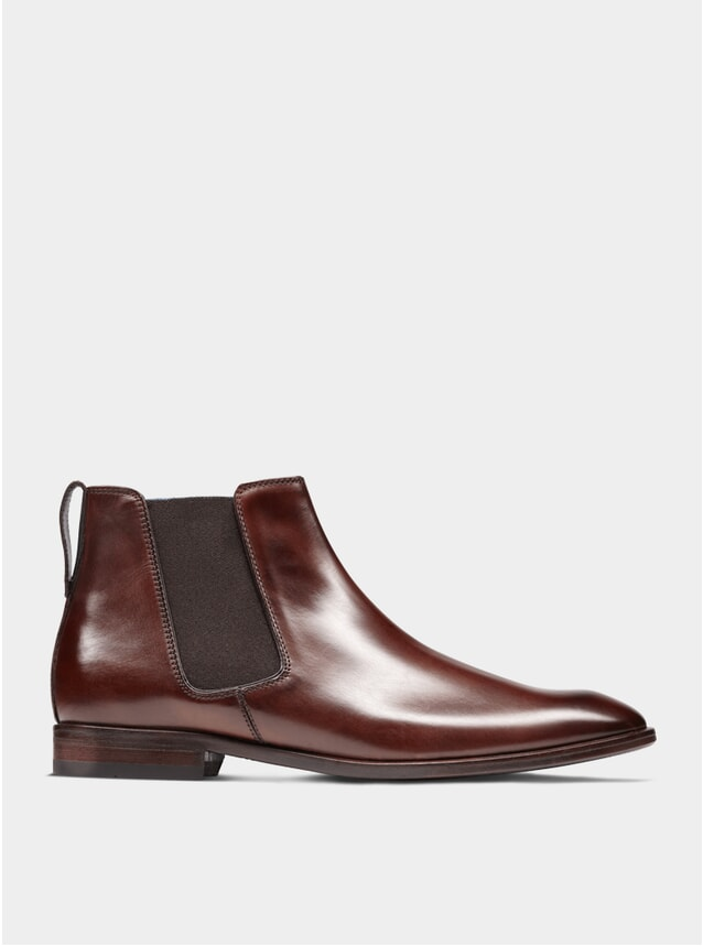 Brown The Fourth Son Chelsea Boots