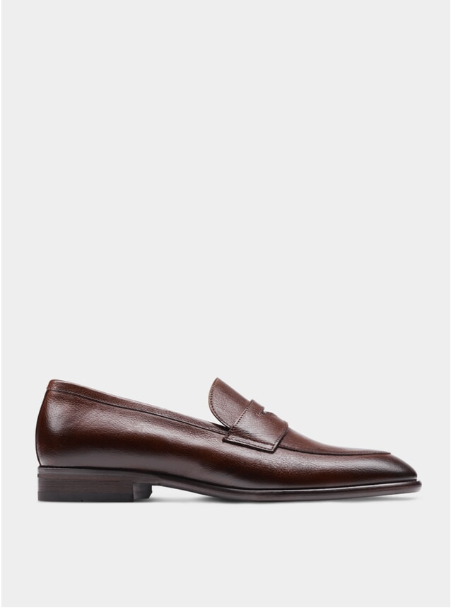 Brown The Seventh Son Penny Loafers